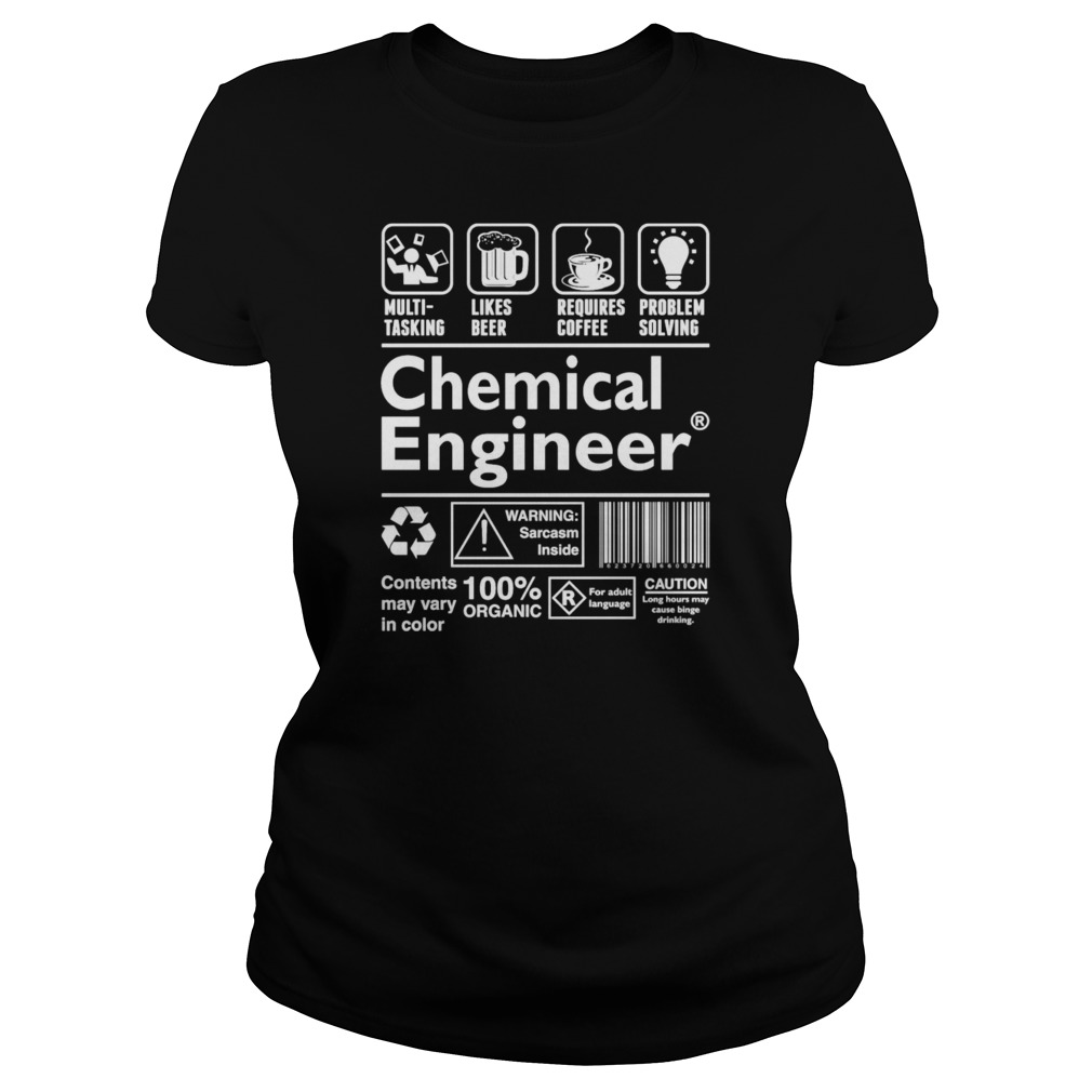 A Chemical Engineer Can Do Multi-Tasking T-Shirt