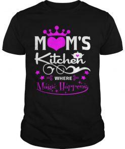 Moms Kitchen Where Magic Happens T-Shirt