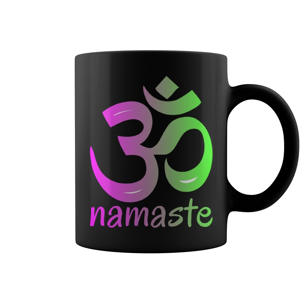 Yoga Om Namaste Coffee Mug