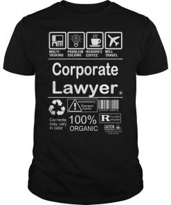 Corporate Lawyer T-Shirt