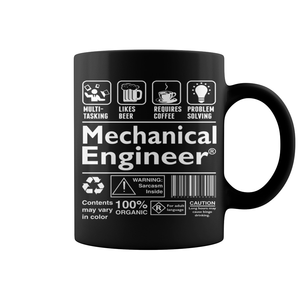 Mechanical Engineer Can Do Multi Tasking Coffee Mug
