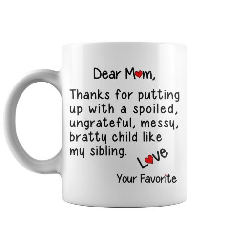 A Special Gift For Mother Funny Coffee Mug
