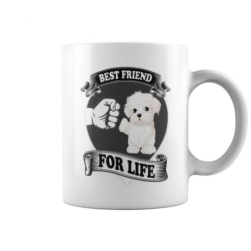 Maltese Best Friend For Life Mug