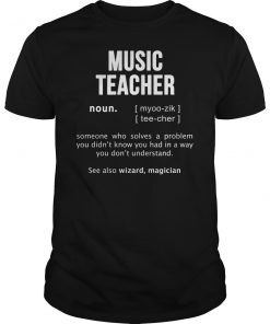 Music Teacher T-Shirt