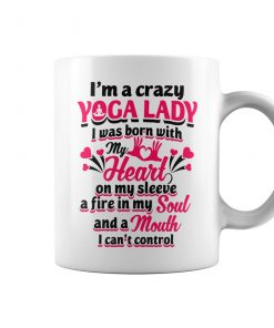 I'm A Crazy Yoga Lady Mug