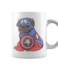 Captain Pug Coffee Mug