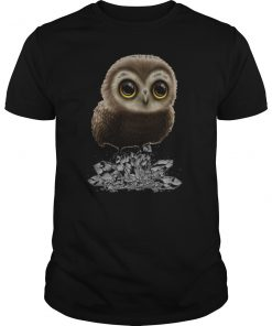 I Love My Cute Owl T-Shirt