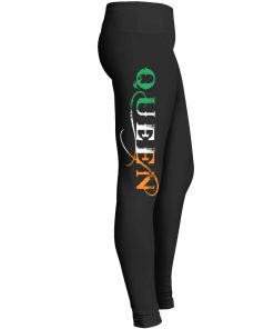 St Patricks Day Irish Queen Leggings