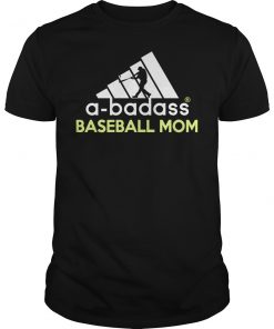 A-badass Baseball Mom T-Shirt