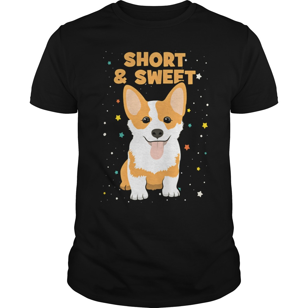 Short and Sweet Corgi T-Shirt