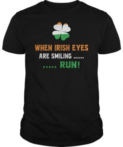 When Irish Eyes Are Smiling St Patrick's Day T-Shirts