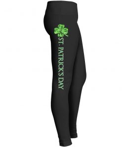 St Patrick's Day Leggings 4 Leaf Clover