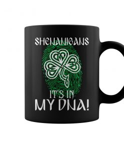 Shenanigans It's In My DNA Irish Coffee Mugs