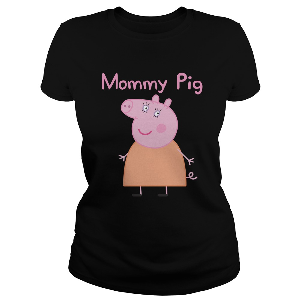 Funny Mommy Pig T-Shirt