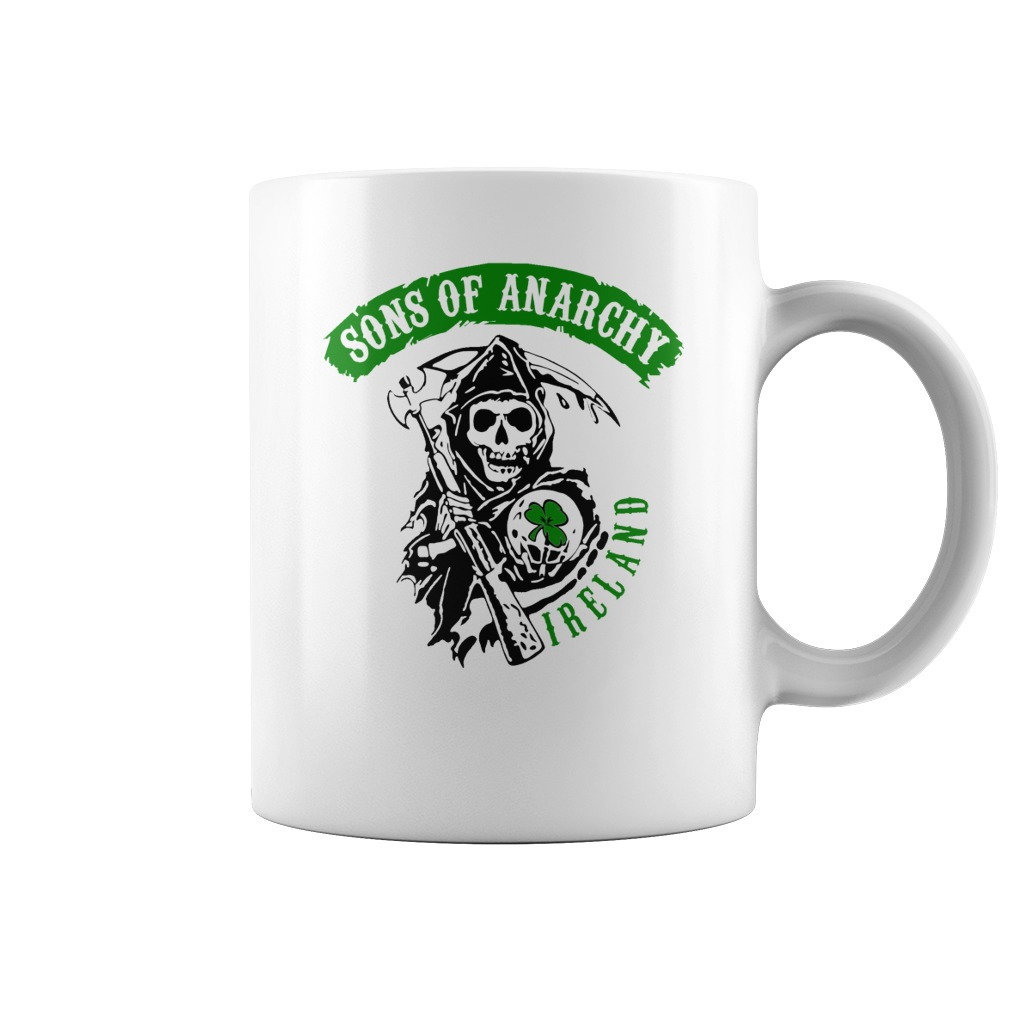 30a0d289d Son Of Anarchy Irish Coffee Mug Perfect Gift For St-Patrick's Day
