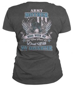 Army Mother Daughter T-Shirt