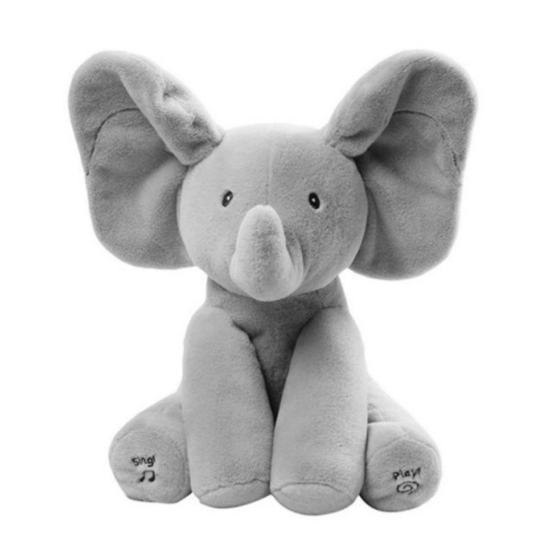 Elephant Peek A Boo Plush Toy