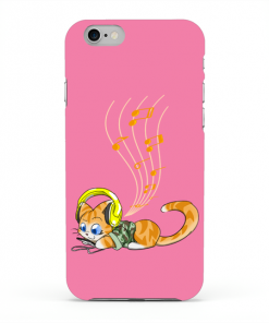 Cat and Music Phone Case