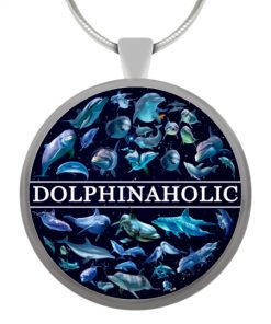 Dolphinaholic Necklace