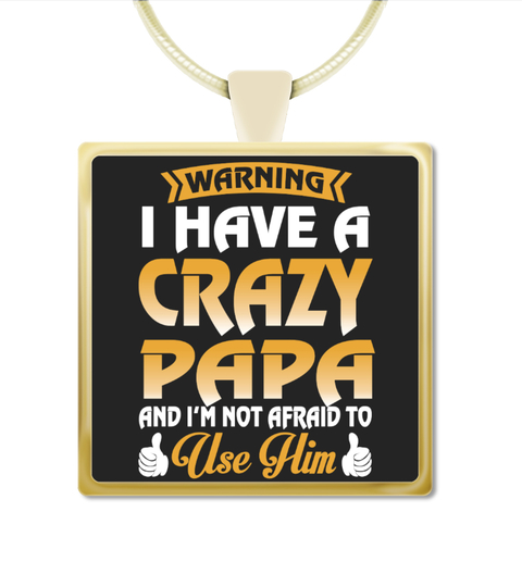 Papa Necklace