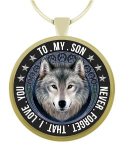 Wolf Lovers Necklace