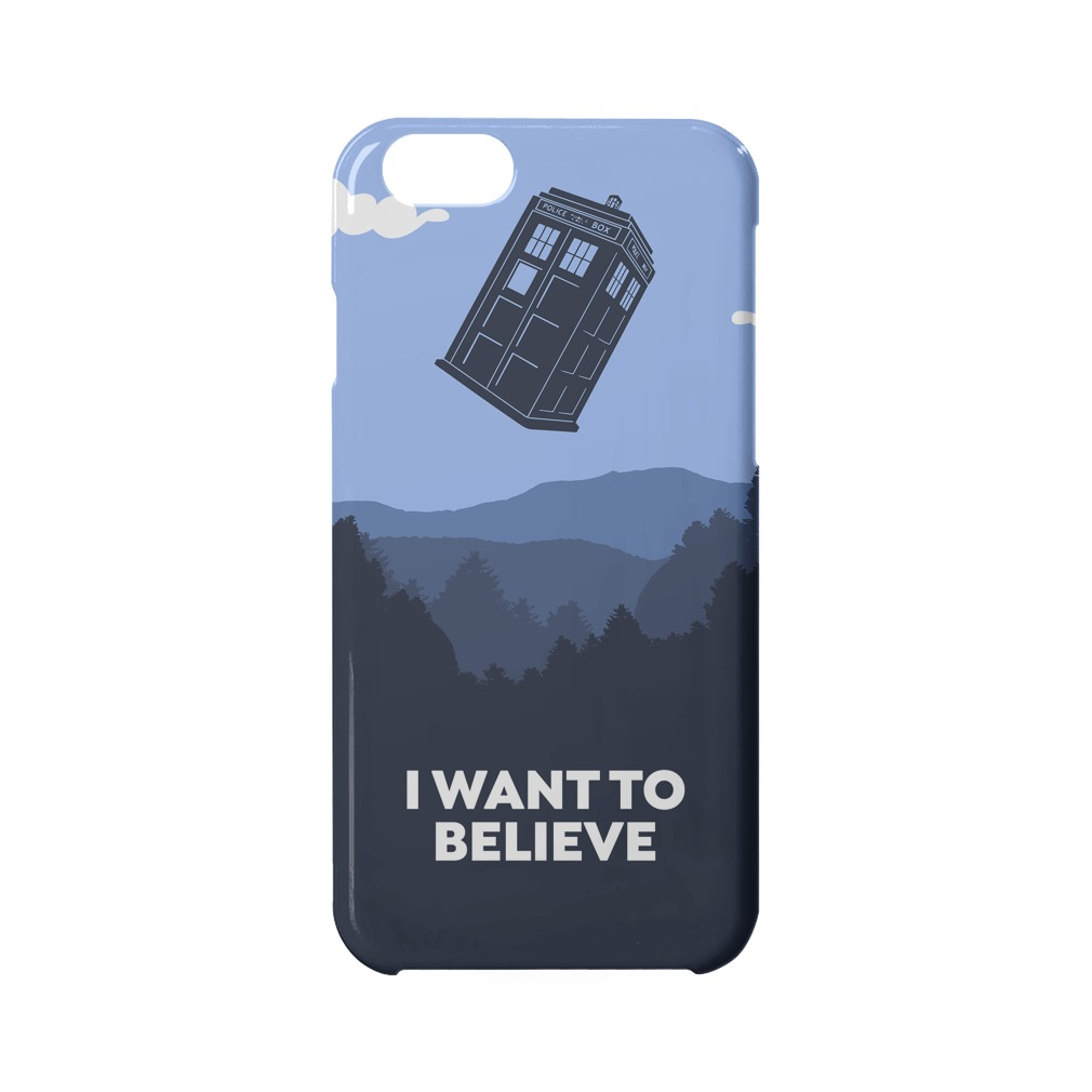 I Want To Believe Tardis Phone Case