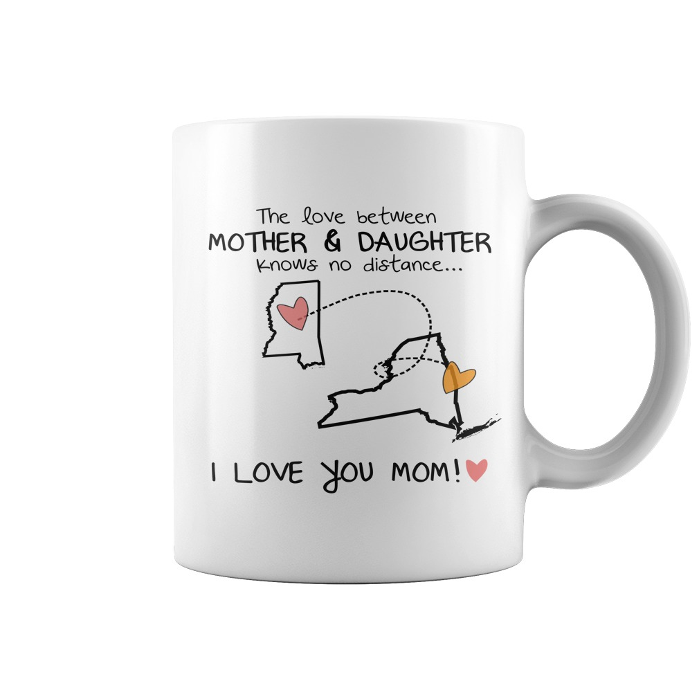 Perfect Gift For Mom Mug Mississippi - New York