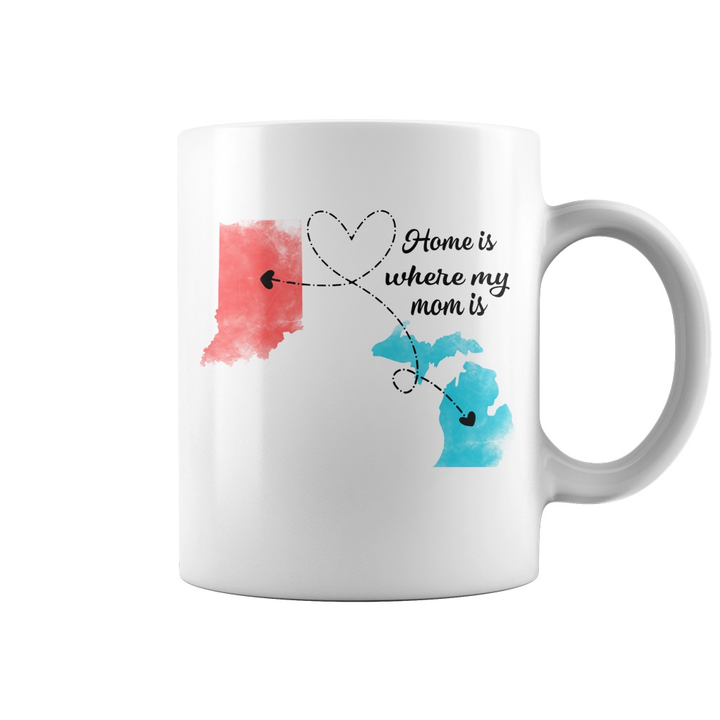 Long Distance State Coffee Mug Mothers Day Gift