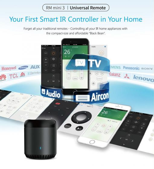 Broadlink RM Mini 3 Remote Controller Smart Home
