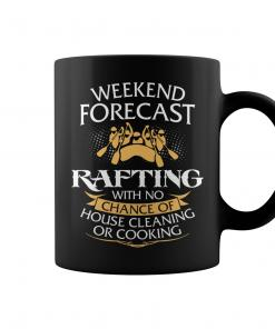Weekend Forecast Rafting Coffee Mug