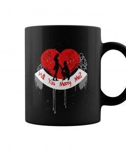 Will You Merry Me Valentines Day Mugs