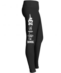 Girl Swimming Leggings